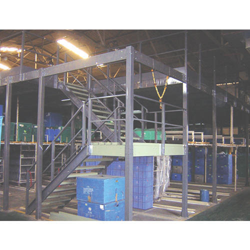 Mezzanine Floor Storage Solution